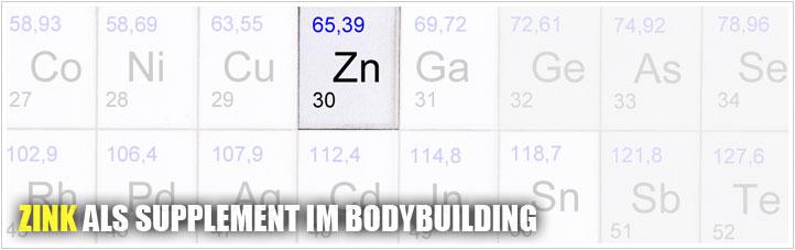 zink als supplement im bodybuilding