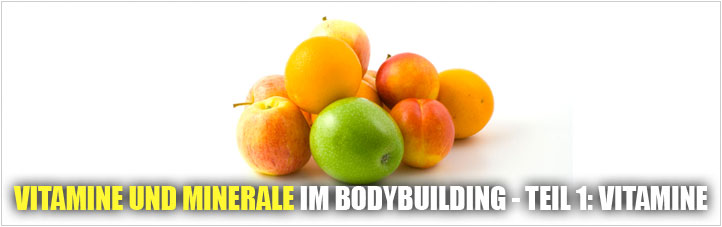 vitamine im bodybuilding