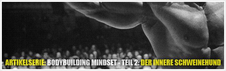 bodybuilding mindset - der innere schweinehund