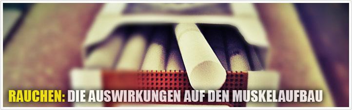 rauchen - die auswirkungen auf den muskelaufbau