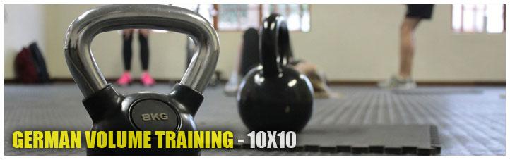 german volume training - 10x10
